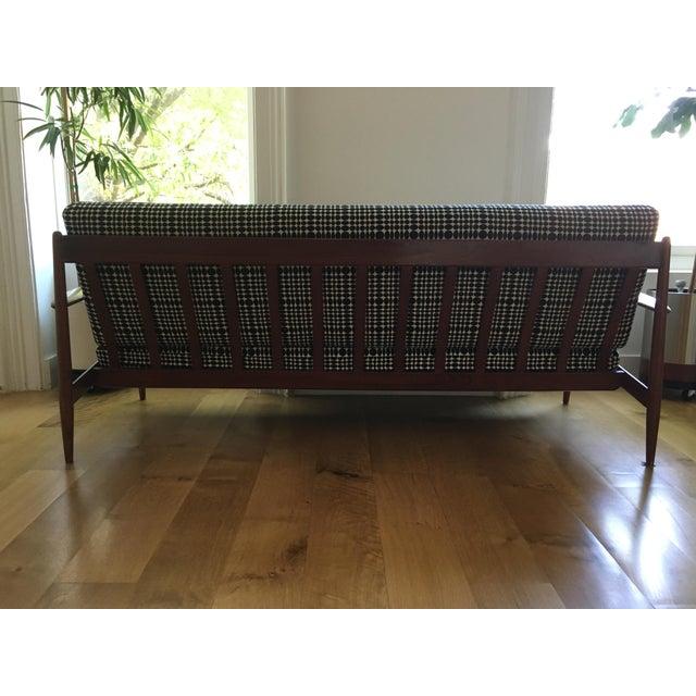 Mid-Century Modern France & Daverkosen Reupholstered Sofa For Sale - Image 3 of 8