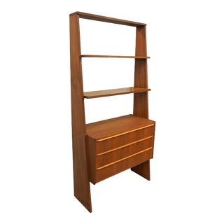 Original Danish Bookcase With Storage - Vamdrup