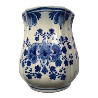 1960s Vintage Delft Vase For Sale