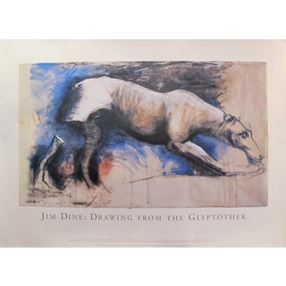 1993 Exhibition Poster - Jim Dine: Drawing From the Glyptothek For Sale
