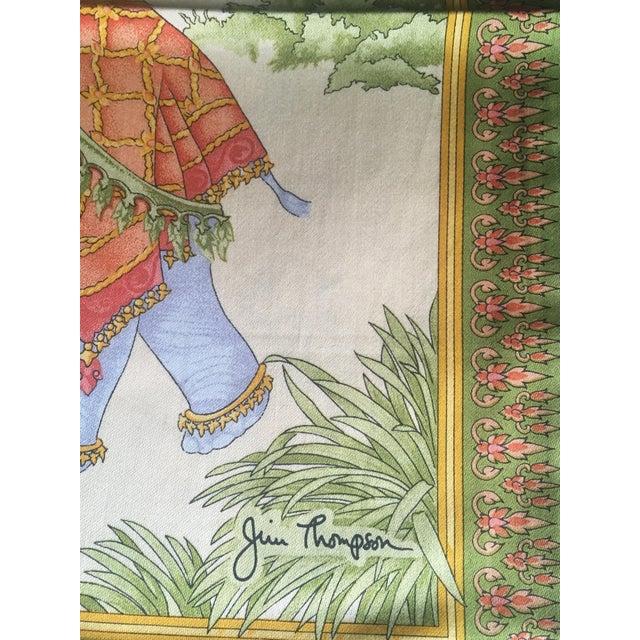 Jim Thompson Thai Silk Pillow Cover - Image 7 of 11