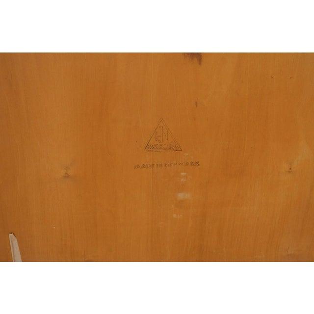 Mid Century Modern Nils Jonsson for Hjn Mobler Danish Teak Tall Dresser Highboy For Sale - Image 10 of 11