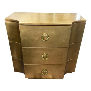 Contemporary Jet Set 3 Drawer Bachelor's Chest For Sale