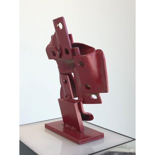 1970s Vintage Brutalis Sculpture by Edgar Negret For Sale - Image 5 of 10