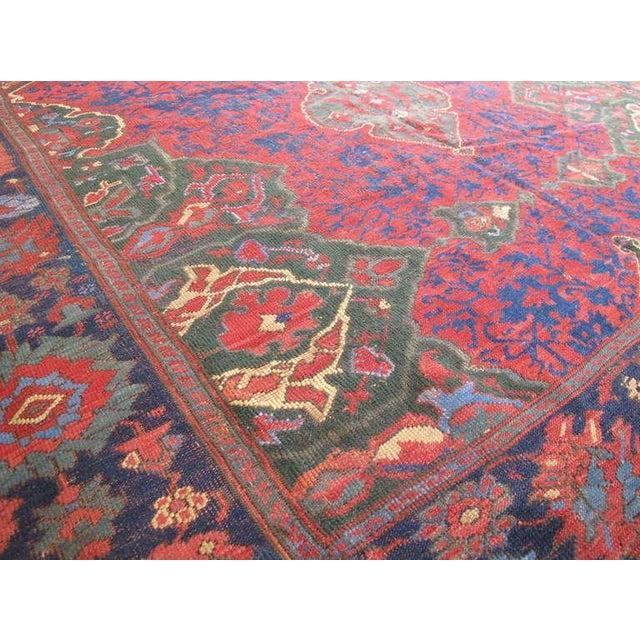 Islamic 17th Century Anatolian Ushak Carpet For Sale - Image 3 of 6