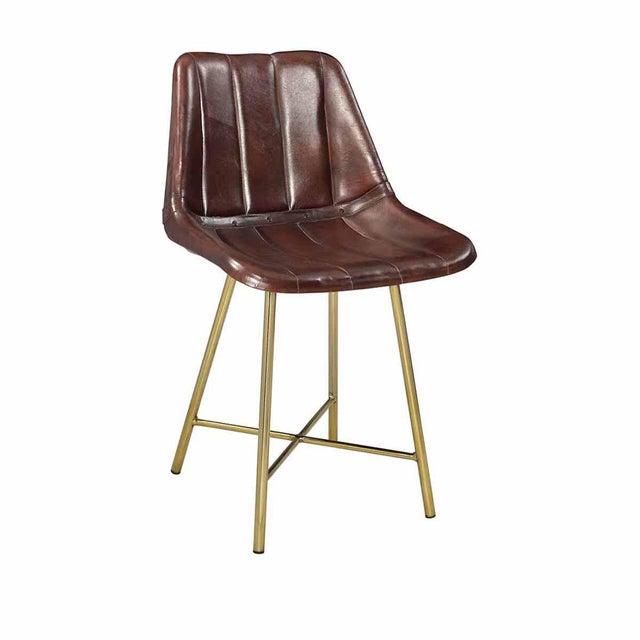Mid Century Modern Leather Dining Chair Chairish