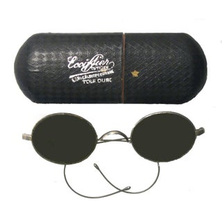 French Spectacles & Case For Sale