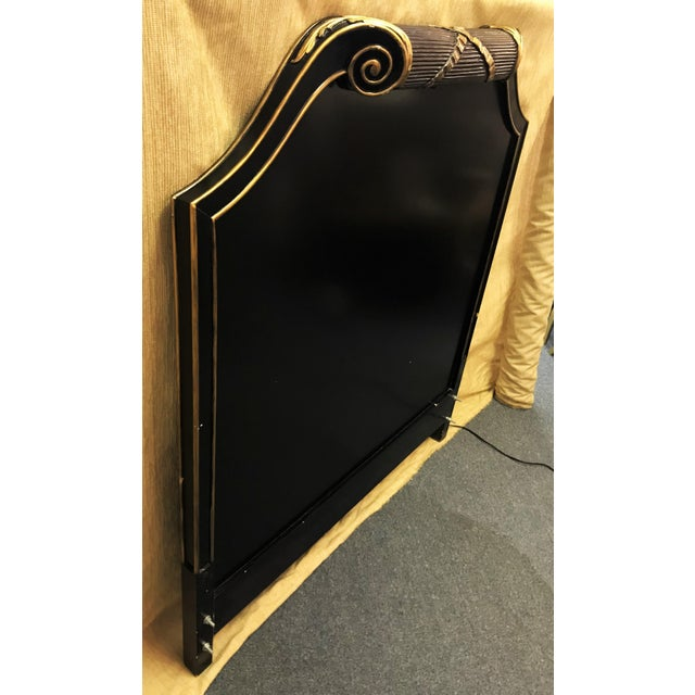 Art Deco Vintage Art Deco Twin Headboard With Light For Sale - Image 3 of 13