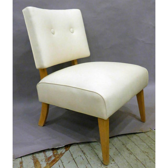 Mid 20th Century Vintage Mid-Century Slipper Chair For Sale - Image 5 of 6