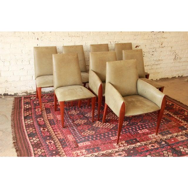 Dakota Jackson Ke-Zu Dining Chairs - Set of 8 - Image 4 of 10