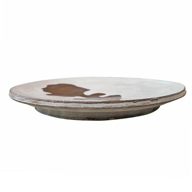 Hand-Thrown Stoneware Salad Plates - Set of 6 For Sale - Image 11 of 13
