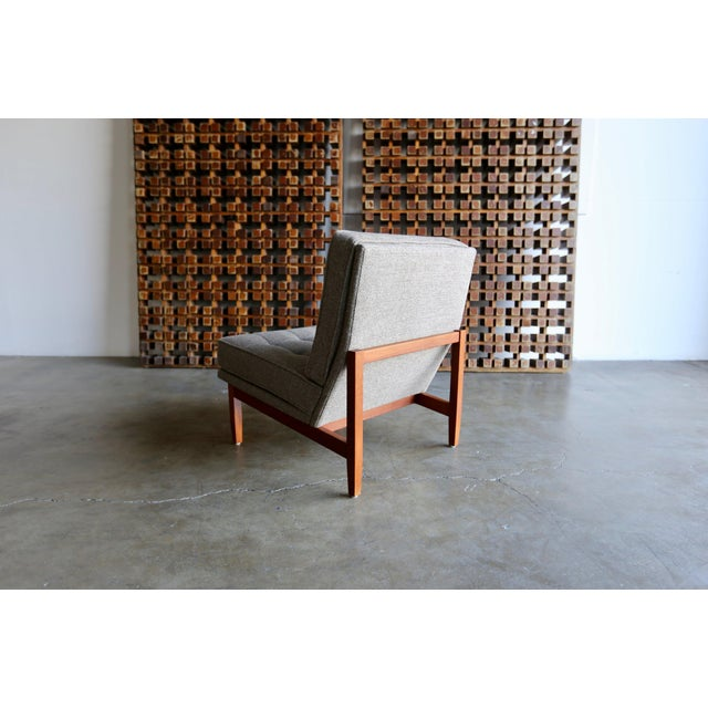 Mid-Century Modern Mid Century Florence Knoll Slipper Lounge Chairs - a Pair For Sale - Image 3 of 12