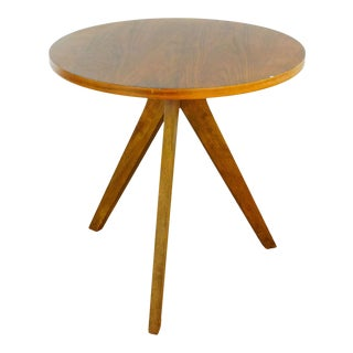 Contemporary West ElmTripod Table For Sale