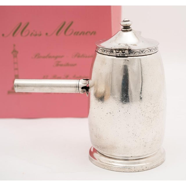Hotel Pierre NYC Handled Coffee Pot, 1954 - Image 4 of 7