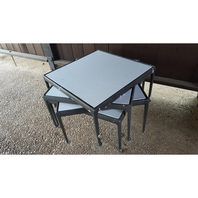 White 1960s Mid-Century Modern Knoll Richard Schultz Coffee Table / Outdoor Patio Furniture For Sale - Image 8 of 10
