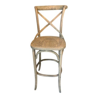 Modern French Country Bar Stool For Sale