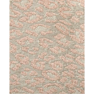 Scalamandre Leopard Pink Sand Fabric For Sale