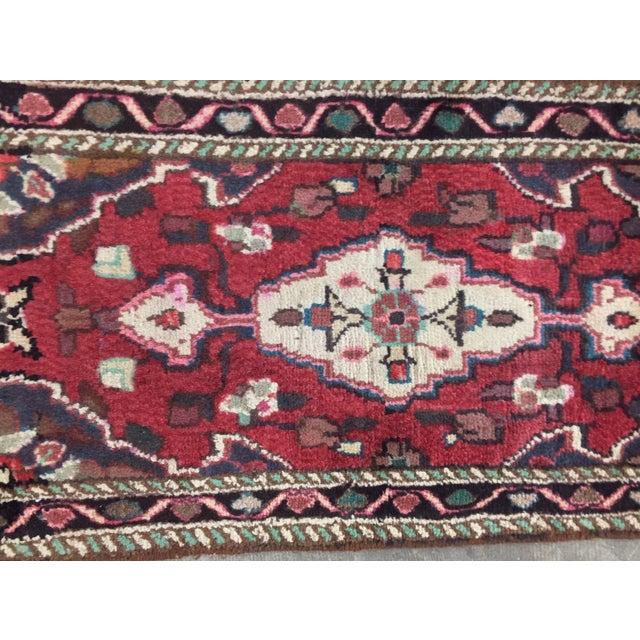 Hamadan Persian Rug - 1′6″ × 2′9″ - Image 4 of 9