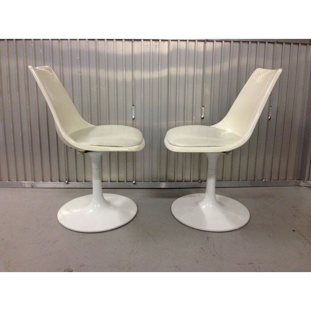 Mid-Century Modern Krueger Tulip Chairs - Pair For Sale - Image 5 of 8
