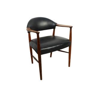 Rosewood Einar Larsen & Aksel Bender Madsen for Fritz Hansen Arm Chair For Sale