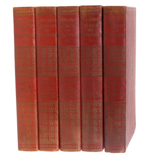 Copeland's Treasury for Book Lovers C.1930, S/5 For Sale