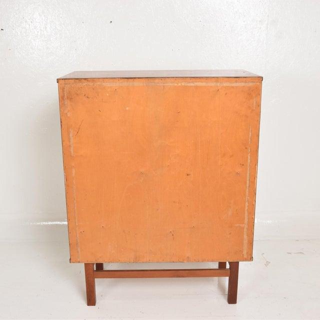 Danish Modern Midcentury Danish Modern Teak Dresser Tall Highboy by Nils Jonsson For Sale - Image 3 of 12