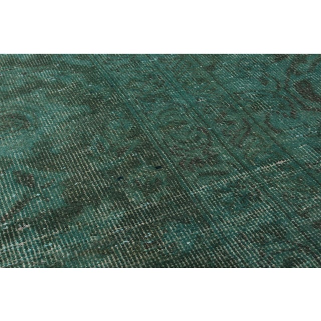"""Vintage Persian Overdyed Rug - 9'5"""" x 12'8"""" - Image 2 of 2"""