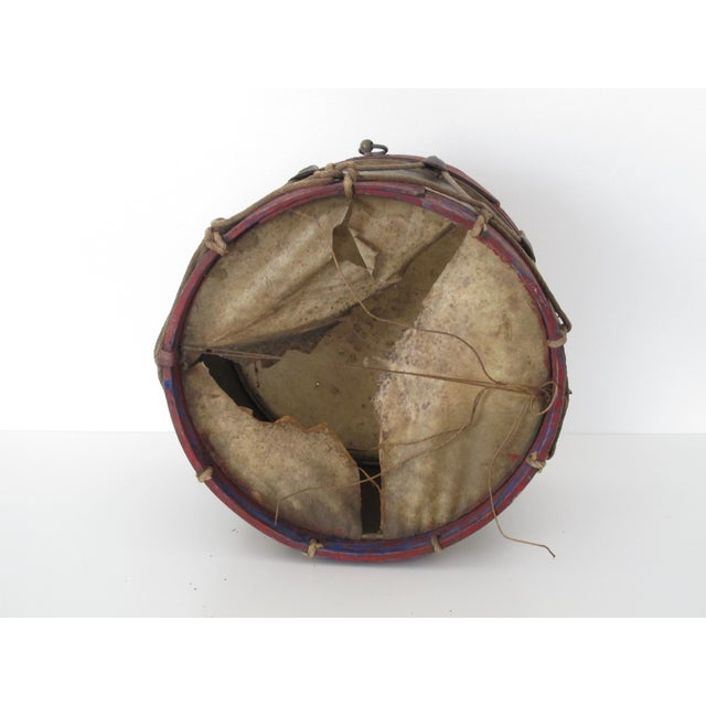 18th-Century Antique Drum - Image 8 of 8