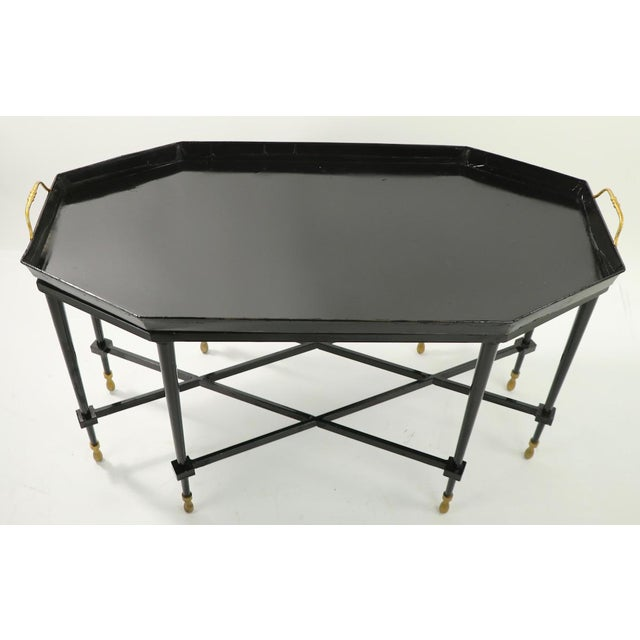 1950s Italian Tray Top Cocktail Table For Sale In New York - Image 6 of 12