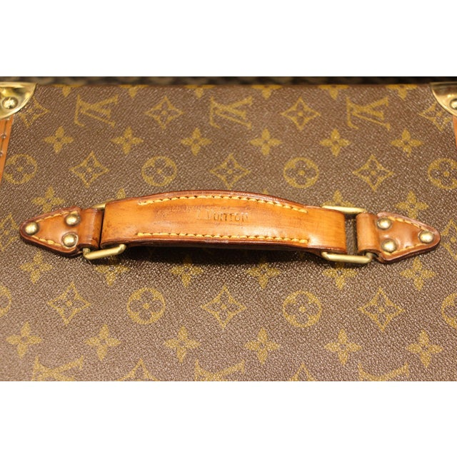 Brown Louis Vuitton Train Case For Sale - Image 8 of 13