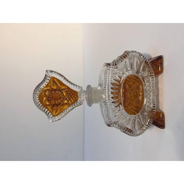 Art Deco Bohemia Karl Palda Crystal Vanity Set, 1930s For Sale - Image 4 of 10