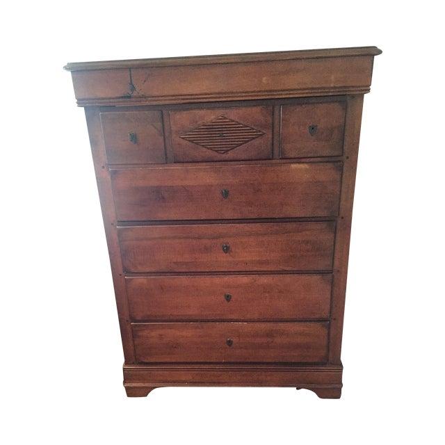 Elegant Wood Dresser - Image 1 of 5