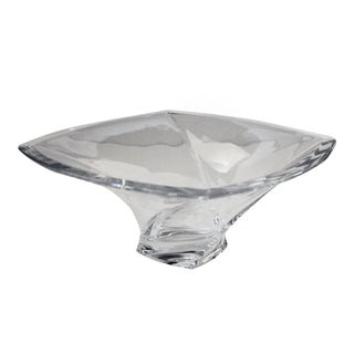 Piroett by Nambe Square Crystal Bowl