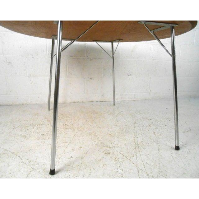 Mid-century Modern Teak Dining Table by Arne Jacobsen for Fritz Hansen - Image 4 of 7