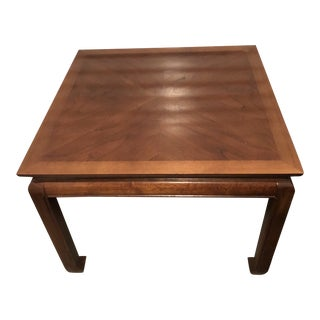 Ming Thomasville Mystique Solid Wood Coffee Table For Sale