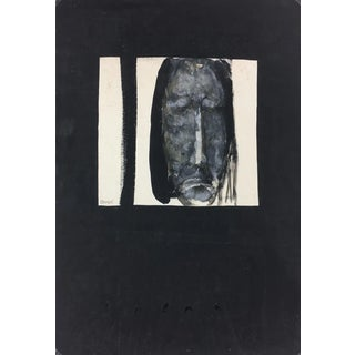 Le Christ, Modern French Painting - Paul Rambié, 1990s For Sale