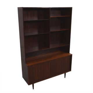 Danish Modern Display Cabinet / Bookcase in Rosewood Preview