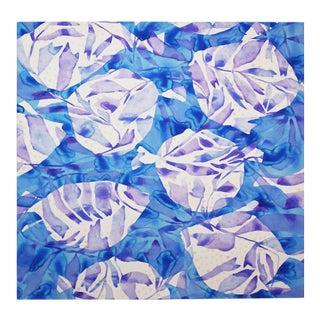 """Blowfish"" Watercolor Painting"