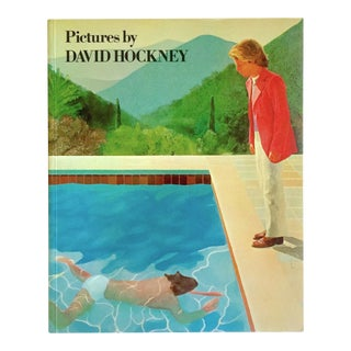 """Pictures by David Hockney"" Vintage 1979 Rare 1st Edtn Collector's Art Book For Sale"