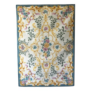 Provencal Floral Needlepoint Tapestry For Sale