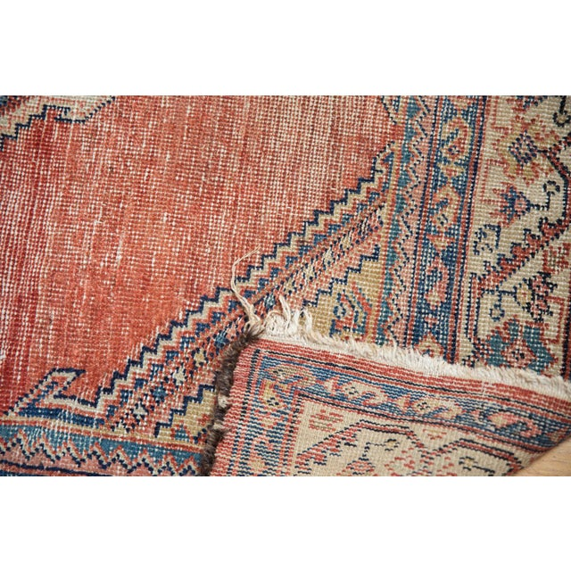 """Antique Malayer Rug Runner - 3'8"""" x 7'6"""" For Sale - Image 10 of 13"""