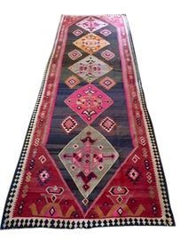 Image of Dark Gray Traditional Handmade Rugs