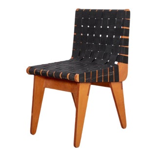 1949 Klaus Grabe Plywood Chair in Black Webbing For Sale