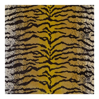 Tiger Silk Velvet Fabric - 1 Yard For Sale