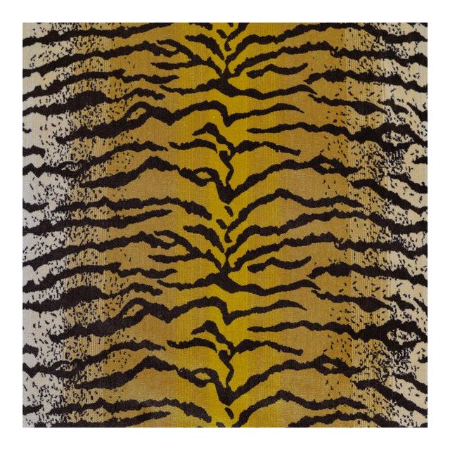 Tiger Silk Velvet Fabric - 1 Yard For Sale