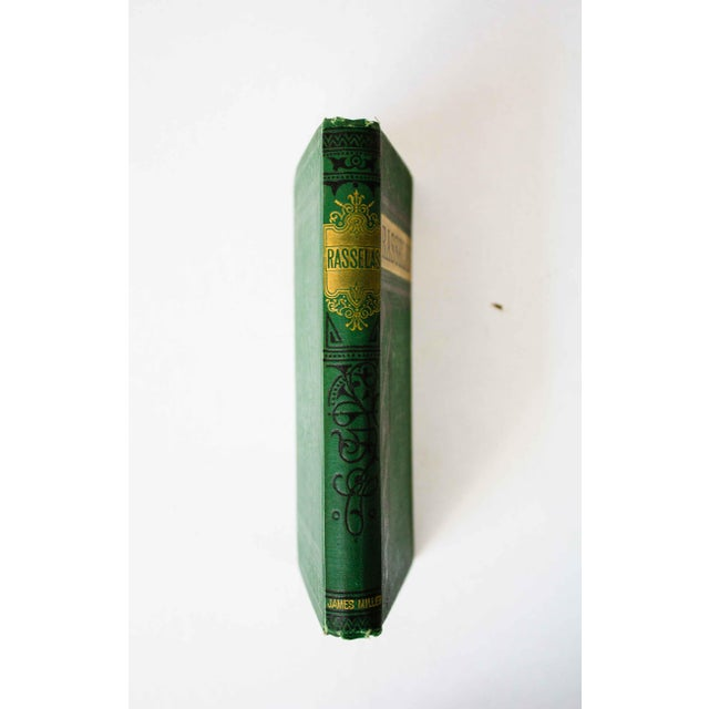 "Art Deco Antique Book, ""Rasselas"" For Sale - Image 3 of 9"