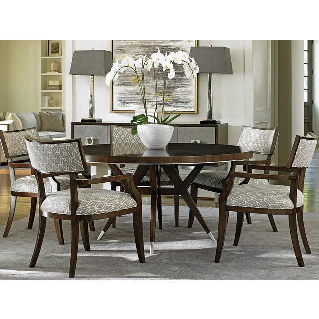 Brown Lexington McArthur Park Strathmore Dining Table For Sale - Image 8 of 9