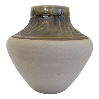 Bob Waters Geometric Vase For Sale