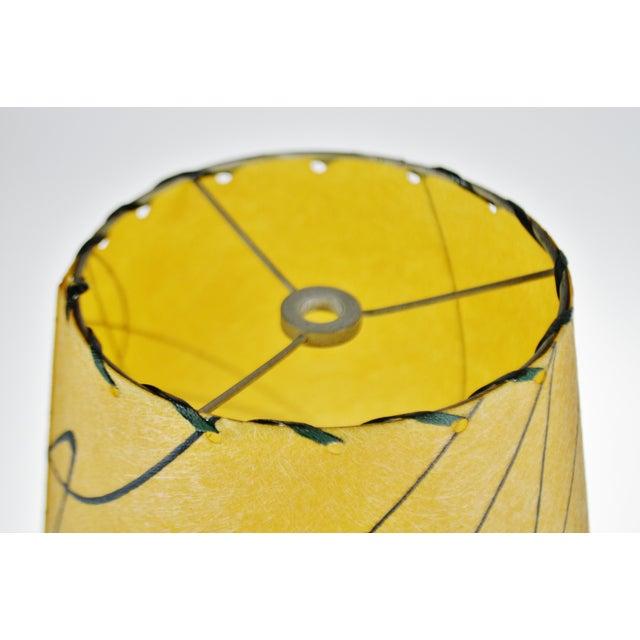 Fiberglass Mid Century Fiberglass Atomic Style Lamp Shade For Sale - Image 7 of 13
