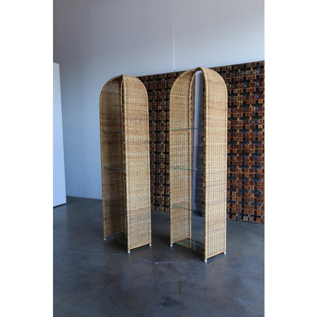 Danny Ho Fong for Tropi-Cal Etageres - A Pair For Sale - Image 10 of 11